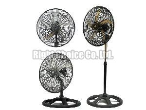 360 Degree Plastic Grill  Pedestal Fan