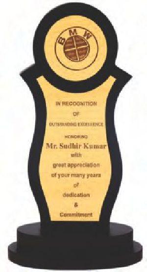 196 Wooden Trophy