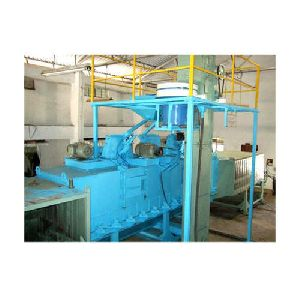 External Shot Blasting Machine