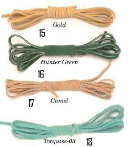 Suede Leather Cords