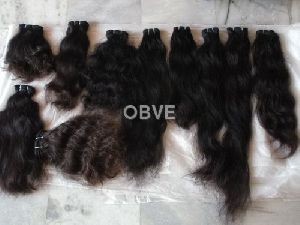 Machine Weft Bulk Human Hair