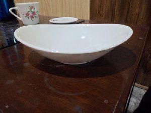 Ceramic Oval Bowl
