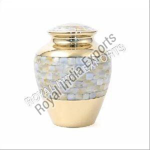 Brass Flower Urn