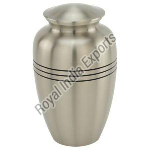 Classic 3 Line Pewter Urn