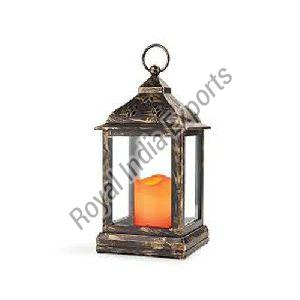 Copper Antique Candle Lantern