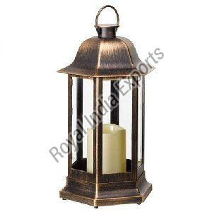 Copper Desire Candle Lantern