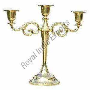 Decorative Brass Candle Stand