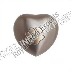 Pet Paw Heart Keepsake Urn