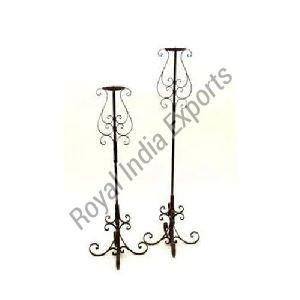 Royal Iron Candle Stand