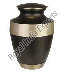 Rustic Bronze Brass Cremation Urn