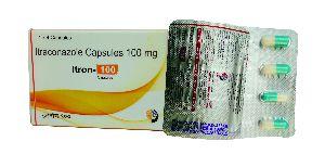 ITRACONAZOLE 100 /200 MG  CAPSULE { ANTI FUNGAL }