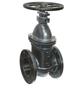 Sluice Valve With Wheel