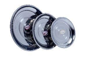 Stainless Steel Meenakshi Plate