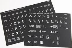 Printed Keypad Sticker