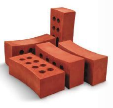 Inner Curved Clay Bricks