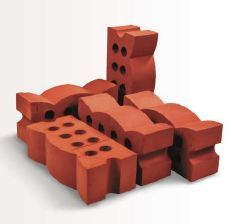Lotus Clay Bricks