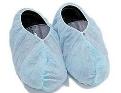 Disposable Ligh Blue Shoe Covers