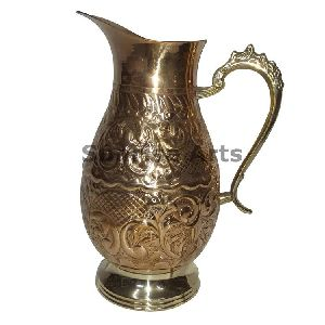 Brass Water Pitcher