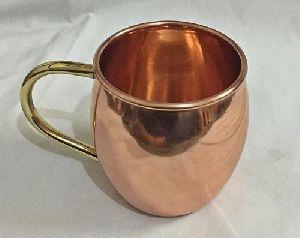 Hammered Copper Mule Mug