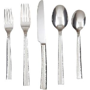 Hammered Flatware Set