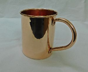Long Copper Mug