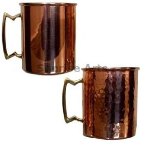 Plain Straight Copper Mug