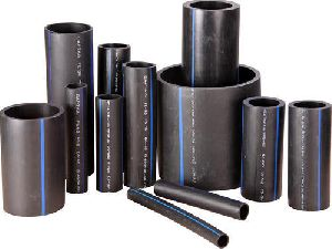 Black CAPTAIN HDPE Pipes