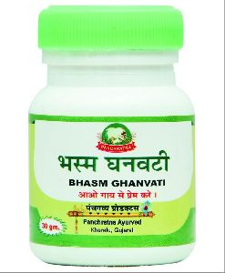 Bhasm Ghanvati Tablets