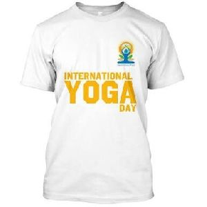 Yoga Day T Shirts