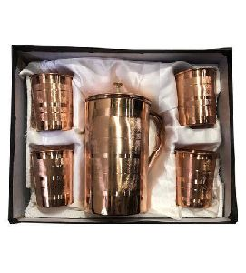 Copper Jug Set
