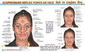 Face Reflexology Chart