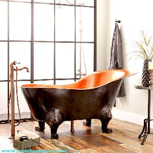 Luxury Vintage Unique Copper Bathtub