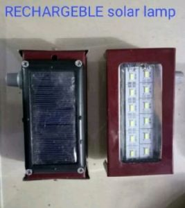 Rechargeable Solar lamp