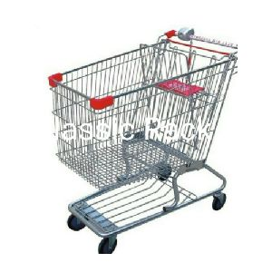 Mild Steel Shopping Trolley
