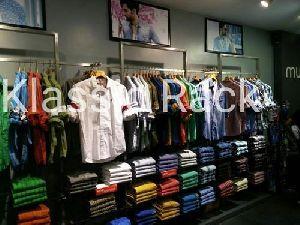 Steel Garment Display Rack