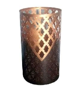 Copper Votive Candle Holder