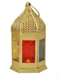 Moroccan T-Light Lantern
