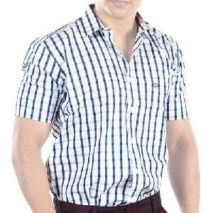 Mens Half Sleeve Casual Shirts