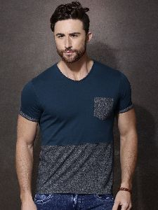 Mens Round Neck T Shirts