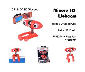 Minoru 3D Webcam: