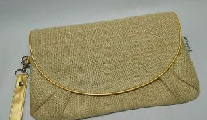 Ladies Jute Clutch Bag