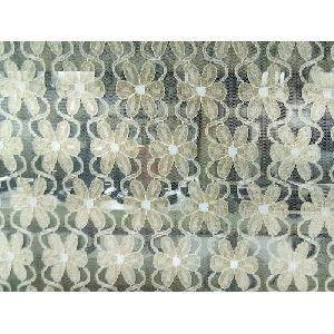 Floral Raschel Fabric