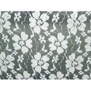 White Raschel Fabric