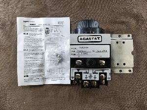 AGASTAT 7022X3B TIMING RELAY 7000 SERIES 2-POLE COIL 110 V