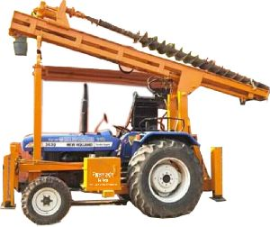 Tractor Piling Machine