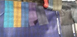Checked Suiting Fabric