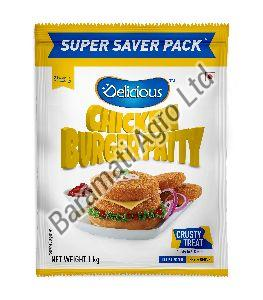 1kg Chicken Burger Patty