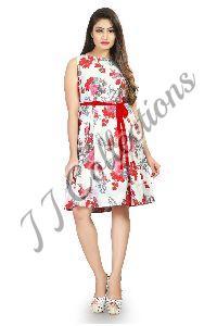 One Piece Printed Dress