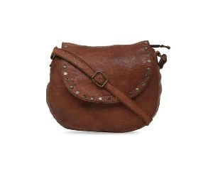 Ladies Leather Sling Bags