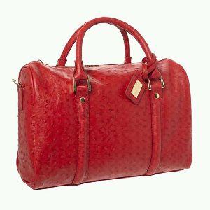 Ladies Leather Travel Bag